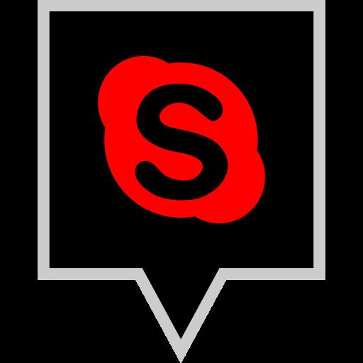brand, logo, skype, social icon