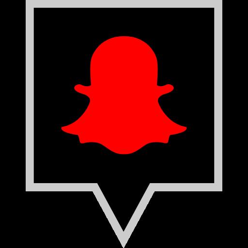 brand, logo, snapchat, social icon