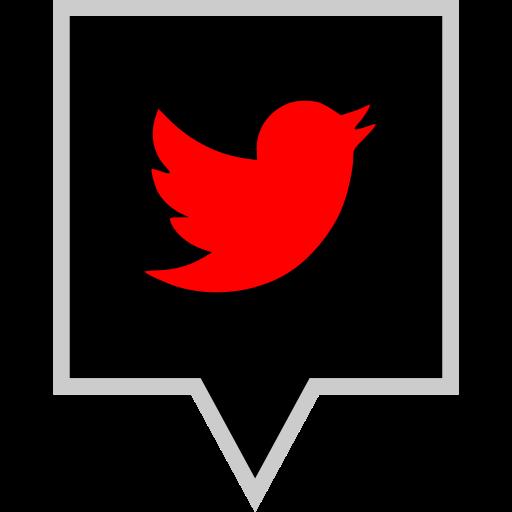 brand, logo, social, twitter icon