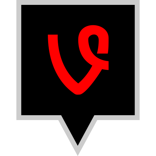brand, logo, social, vine icon