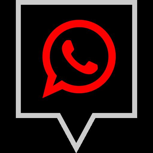 brand, logo, social, whatsapp icon