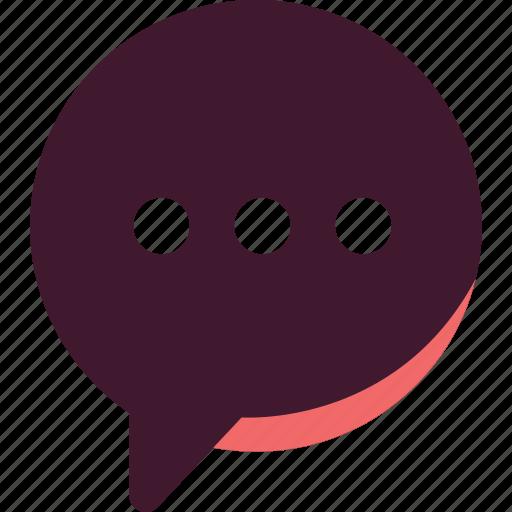 Chat, conversation, message, speak, speech, talk icon - Download on Iconfinder