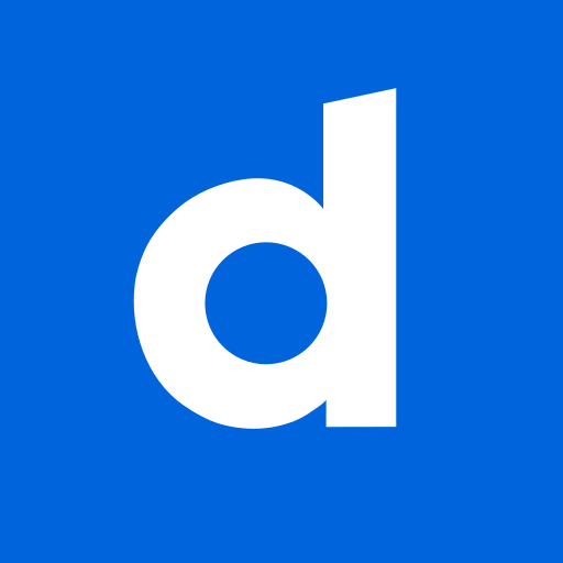 colored, dailymotion, high quality, media, social, social media, square icon