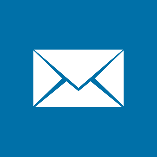 colored, high quality, mail, media, social, social media, square icon