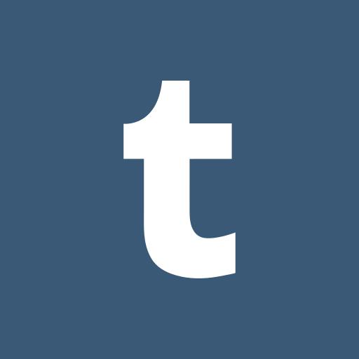colored, high quality, media, social, social media, square, tumblr icon