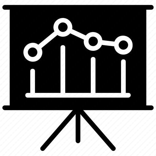 analysis, graph, line chart, presentation, statistics icon