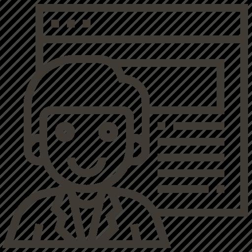 avatar, man, webpage icon