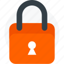 administrator, lock, locked, secure icon icon