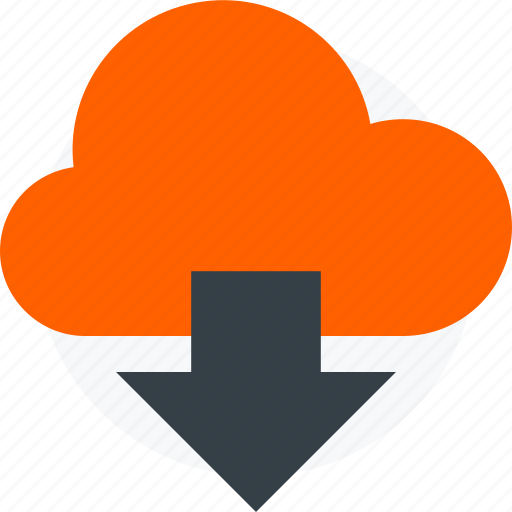 cloud, download icon icon