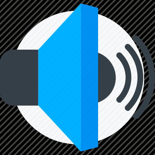 audio, music, sound, speaker, volume icon icon