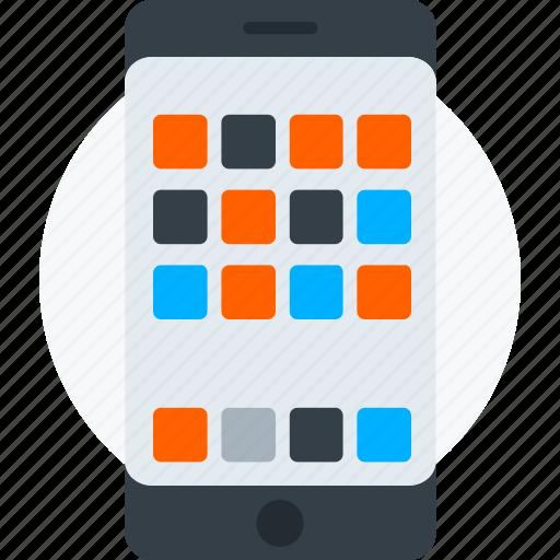 device, gadget, menu, mobile, smartphone, ui icon icon