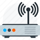 router, signal, wifi, wireless icon icon