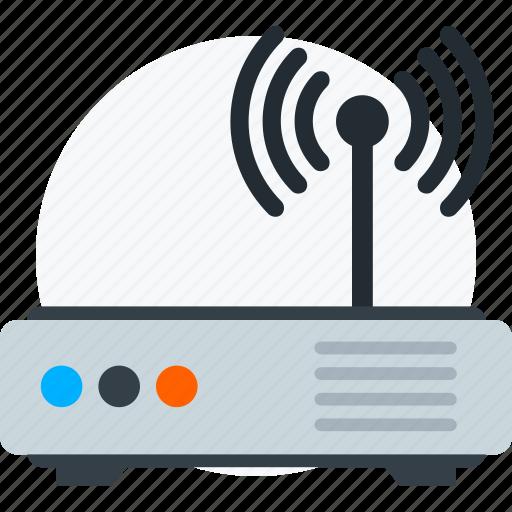 router, signal, wifi, wireless icon icon