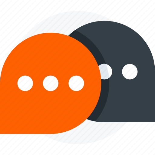 bubble, chat, comments, conversation, message icon icon