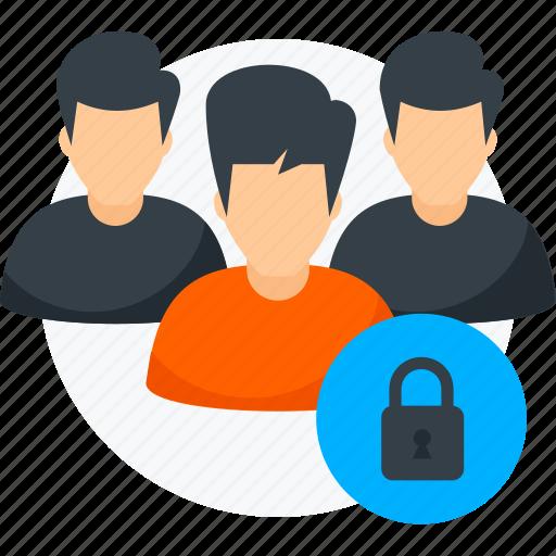 group, lock, pix, team, unlock icon icon