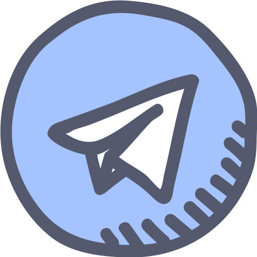 Communication Message App Telegram User Blue Chat Icon