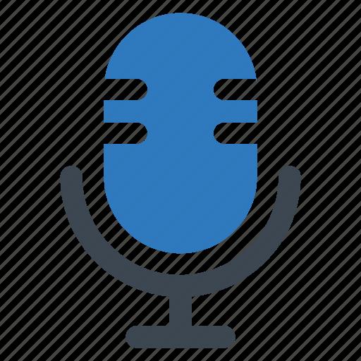 mic, microphone, speech icon
