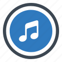 audio, music, sound icon