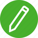 compose, draw, edit, pen, pencil, scribe, write icon