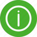 alert, help, info, information, learn, more, sign icon