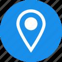 circle, address, gps, local, location, map, marker