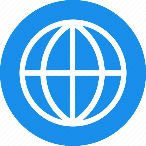 blue, global, globe, international, language icon