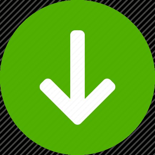 Green Circle Arrow Icon | www.imagenesmi.com