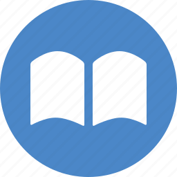 book, bookmark, circle, learn, library, read, reading icon