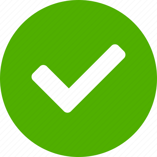 Approved, check, checkbox, confirm, green, success, yes ...