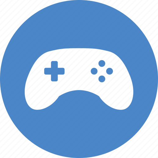 arcade, circle, controller, entertainment, game, gamepad, gaming icon