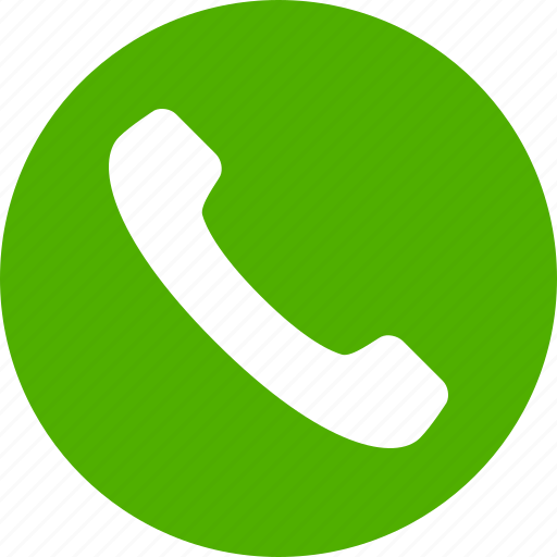 Contact Icon: Accept, Call, Circle, Contact, Green, Phone, Talk Icon