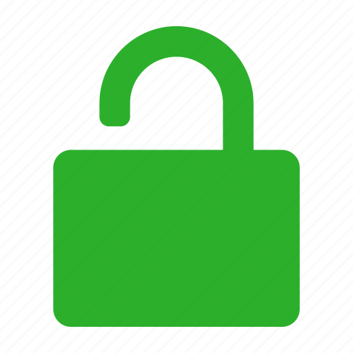 Lock, secure, security, unlock icon - Download on Iconfinder