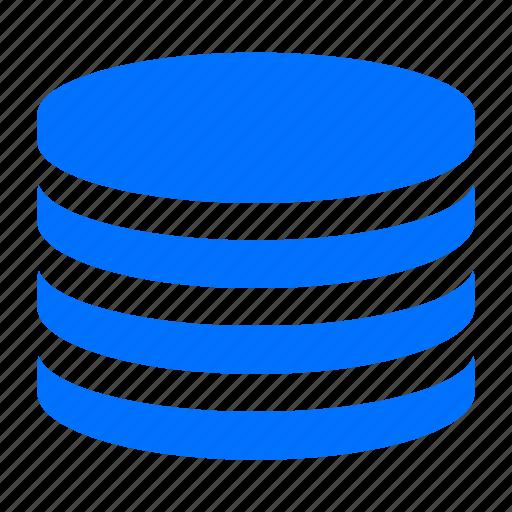 database, disk, harddrive, storage icon