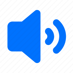 audio, medium, player, sound, speaker, volume icon