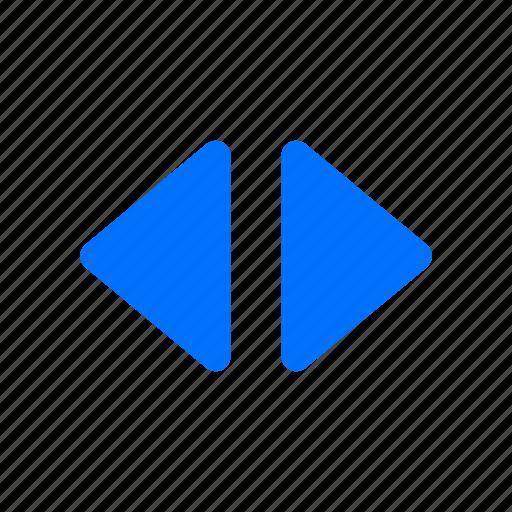 horizontal, select icon