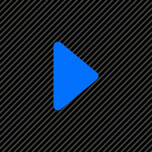 arrow, right, select icon