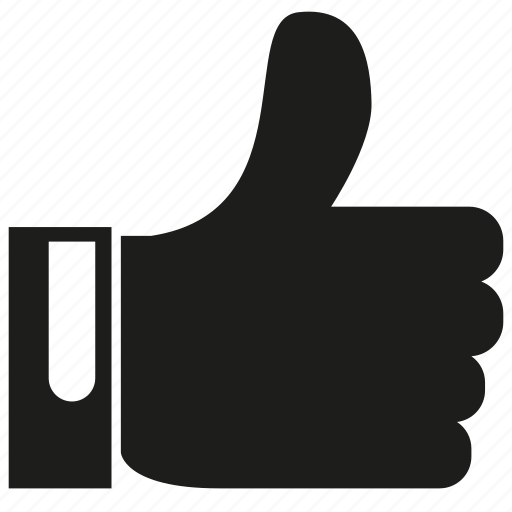 hand, like, social media, thumb icon