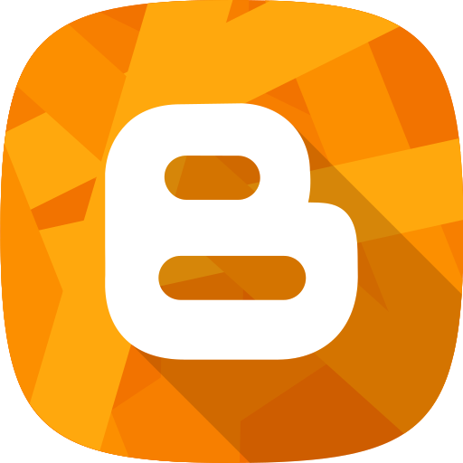 blogger, social network icon