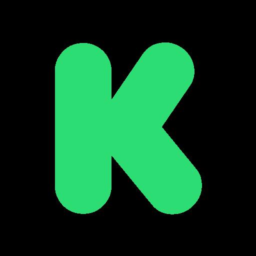 Kickstarter, social, online, share icon - Free download