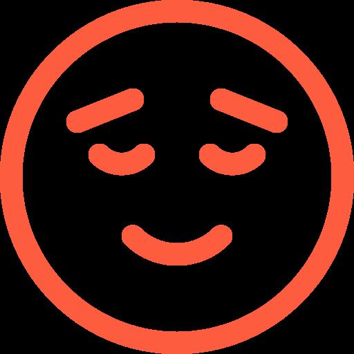 calm, emoji, emotion, face, peaceful, quiet, reaction, social icon