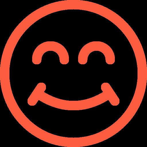 cheerful, emoji, emotion, face, happy, joyful, smile, smiley, social icon