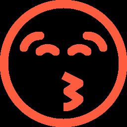 emoji, emotion, face, kiss, kissing, playful, reaction, social icon