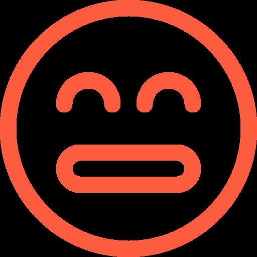 afraid, anxious, emoji, emotion, face, frightened, scared, social icon