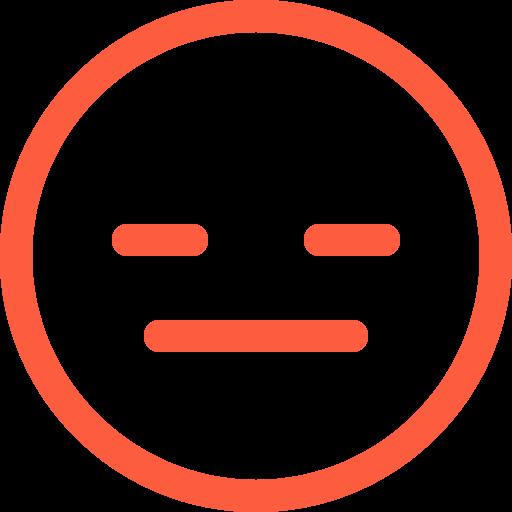 conversation, emoji, emotion, face, flat, reaction, social, speechless icon