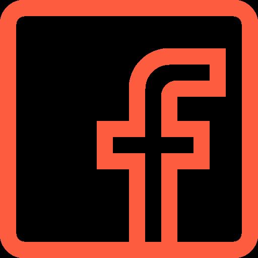 application, facebook, logo, media, platform, social, website icon