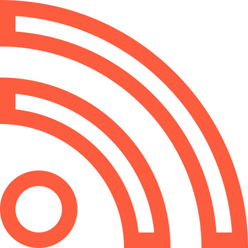 feed, news, online, rss, subscribe, web, website icon