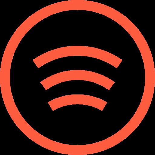 freemium, logo, music, podcast, service, spotify, streaming icon