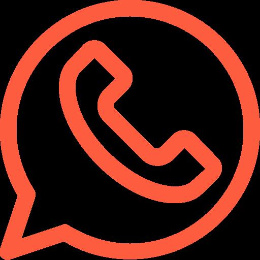 app, application, call, chat, logo, messenger, whatsapp icon
