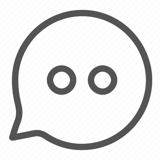 bubble, chat, messages icon