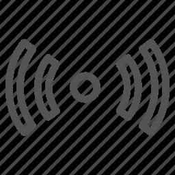 hotpost, internet, wifi icon